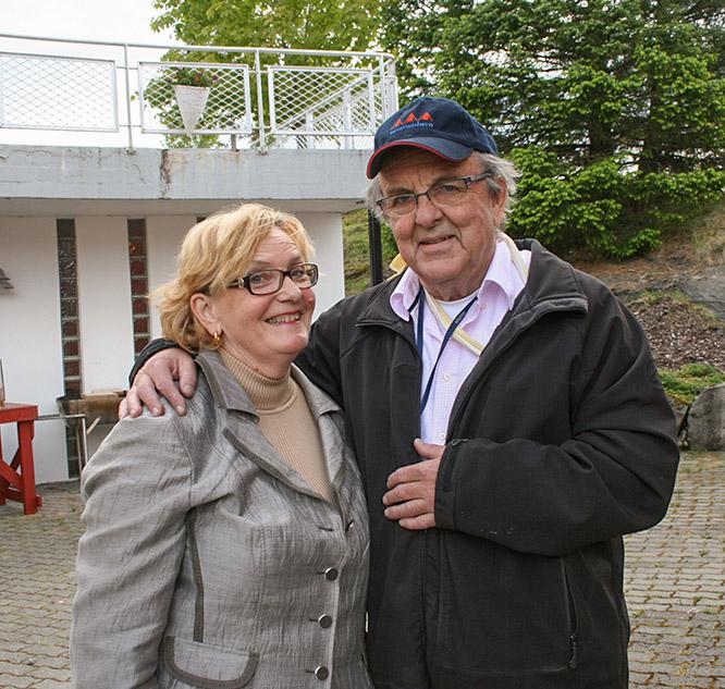 Tove og Aage Oxholm
