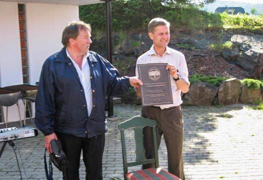Kjell Trælnes og Erik Solheim